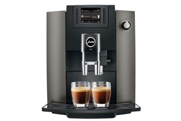 Jura 15260 E6 DARK INOX EU Espresso machine