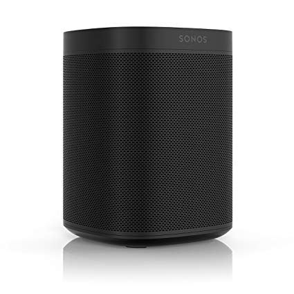 SONOS Play:One Zwart Wireless
