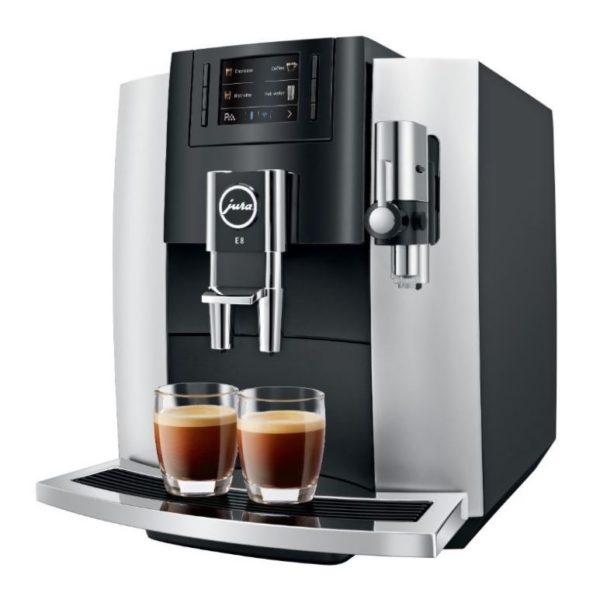 Jura 15247 E8 2018 PLATINA Espresso machine
