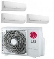 LG MU3M19-090909 Airco triple split met 3 binnenunits