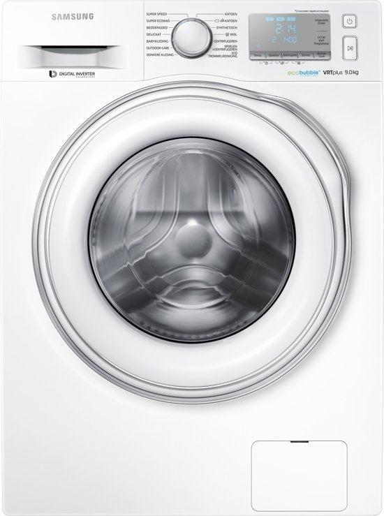 Samsung WW90J6603EW ECO BUBBLE Wasmachine voorlader