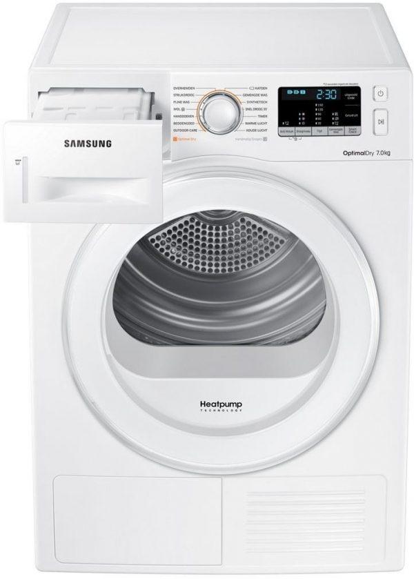Samsung DV80M5010IW/EN OPTIMAL DRY Warmtepomp droger