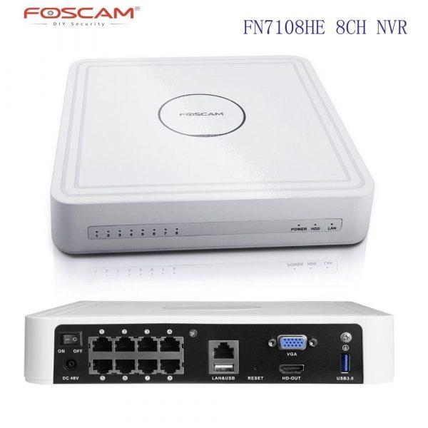 Foscam FN7108HE Netwerk Video Recorder
