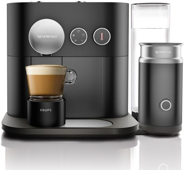 Krups XN6018 EXPERT EN MILK BLACK Pad of cup koffiezetter